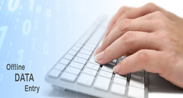 outsource offline data entry services